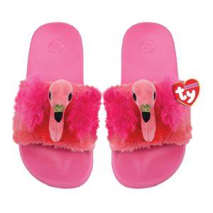Ty Plush - Slides - Gilda the Flamingo (Size: 36-38) (TY95468)
