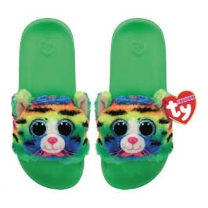 Ty Plush - Slides - Tigerly the Tiger (Size: 28-31) (TY95412)