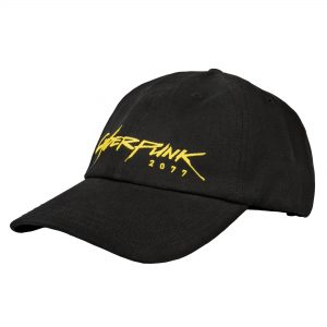 Cyberpunk 2077 Cyberdad Dad Hat Black