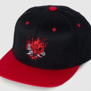 Cyberpunk 2077 Samurai Logo Snapback Hat