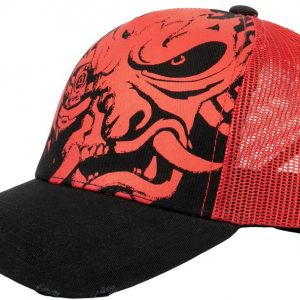 Cyberpunk 2077 Distressed Samurai Tucker Hat
