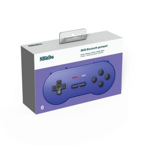 Nintendo Switch 8BitDo SN30 Bluetooth Gamepad (Blue)