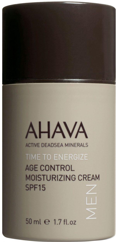 AHAVA - Men Age Control Moisturizing Cream SPF-15 50 ml