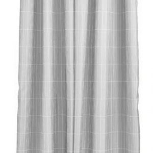 Zone - Tiles Shower Curtain 200 x 180 cm - Soft Grey (331844)