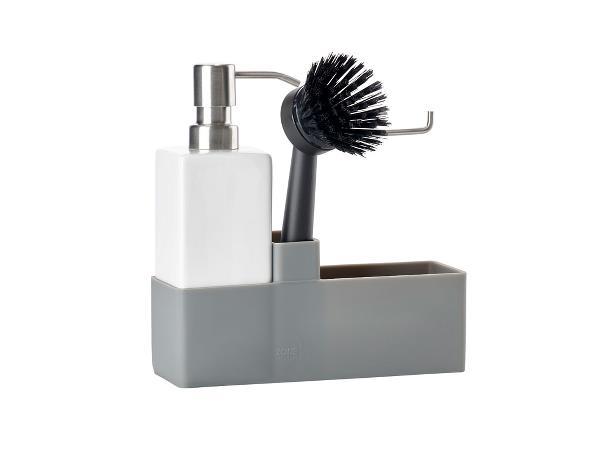 Zone - Dishwashing Set of 3 - Grey (330496)