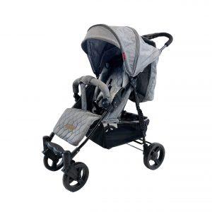 Babytrold - Cuba Pushchair - Grey Denim