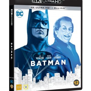 Batman (1989) 4K Blu ray