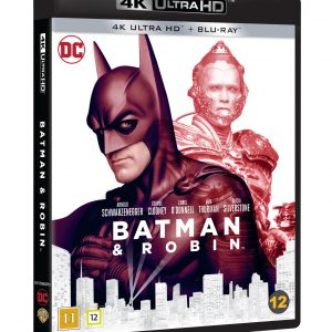 Batman & Robin 4K Blu ray