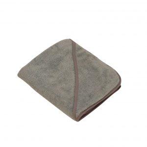 Baby Dan - Bath Cape (90x90) - Dusty Grey