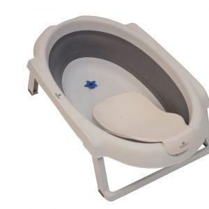 Baby Dan - Bath Set w. Fold - Baby Bath 30L and Support
