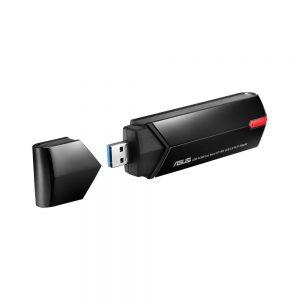 Asus - USB-AC68 Dual-Band AC1900 USB Wi-Fi Adapter