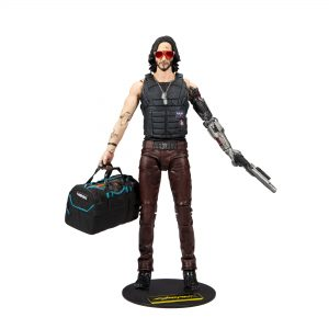 Cyberpunk 2077 - Johnny Figure with Bag