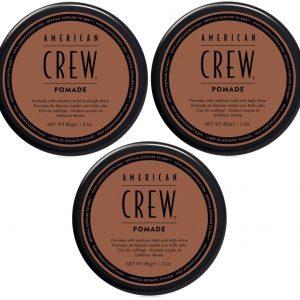 American Crew - 3x Pomade 85 gr.