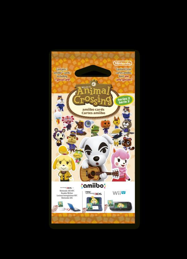 Animal Crossing: Happy Home Designer amiibo Card Pack (Series 2)