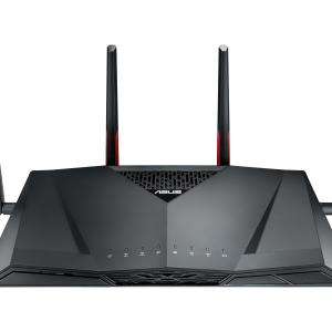 Asus - RT-AC88U Wireless AC3100 Dual-Band Gigabit Router