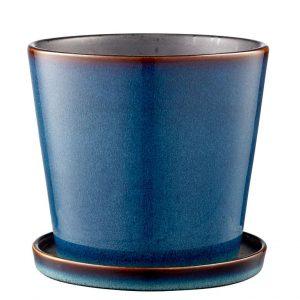 Bitz - Flowerpot Medium - Dark Blue/Black (11241)
