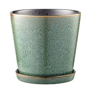 Bitz - Flowerpot Medium - Green/Black (11237)