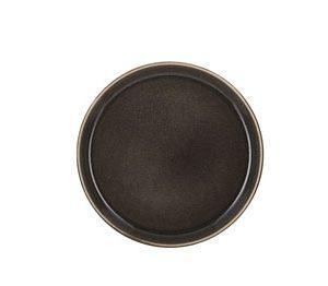 Bitz - Gastro Lunch Plate 21 cm - Grey/Grey (821255)