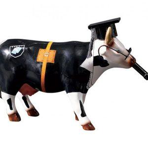 CowParade - Cow Doutora - Medium (92832)