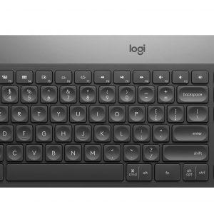 Logitech - Craft Advanced keyboard with creative input dial