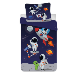 Bed Linen - Junior Size 100 x 140 cm - Astronaut (1000342)