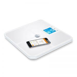 Beurer - BF950H White Body Analysis Weight - Bluetooth - 5 Years Warranty