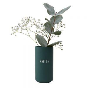 Design Letters - Favoritvase Smile - Green (10101005DGSMILE)