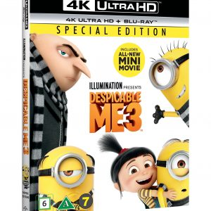 Despicable Me 3 (4K Blu-Ray)