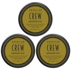 American Crew - 3x Molding Clay 85 gr.