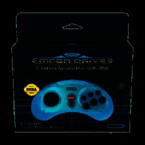 Retro-Bit SEGA Mega D. 8-B USB Blue
