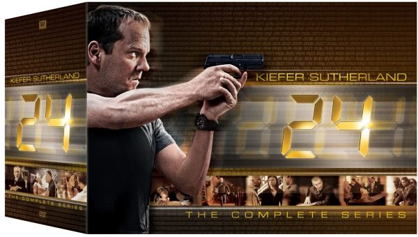 24: Complete Box - Season 1-9 + Redemption + Live Another Day (58 disc) - DVD