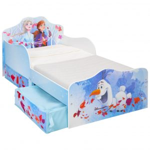Disney Frozen - Kids Toddler Bed with Storage (509FZO01EM)
