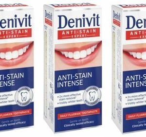 Denivit - 3 x Toothpaste Whitening 50 ml