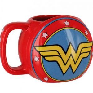 DC Comics Wonder Woman Shield 3D Mug