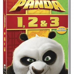 Kung Fu Panda 1-3 Boxset - DVD