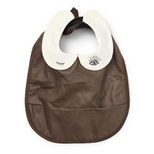 Elodie Details - Baby Bib - Faux Leather