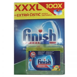 Finish - Dishwasher Cleaner250 ml + All in One Deep Clean 100 Pcs