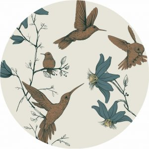 Everleigh & Me - Splat Mat, Hummingbird ( 38HUM)