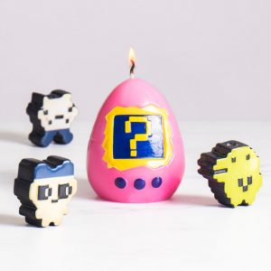 Hatching Virtual Pet Candle (21521)