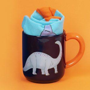 Dinosaur Mug & Sock Set (1923)