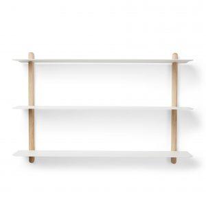 Gejst - Nivo Shelve A - White Oak/White (20101)