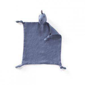 Kids Concept - Comfort Blanket Dino - Blue (1000417)