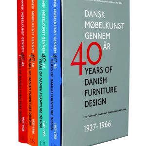 40 Years of Danish Furniture Design - Book