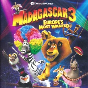 Madagascar 3: Europe's Most Wanted (Blu-Ray)