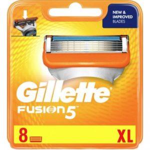 Gillette - Fusion Manual Blades XL Pack 8 Pcs