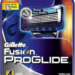 Gillette - Fusion Proglide Blades 4 Pack