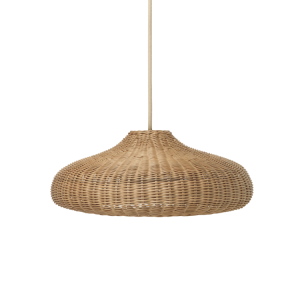 Ferm Living - Braided Lampshade - Brown (100177206)