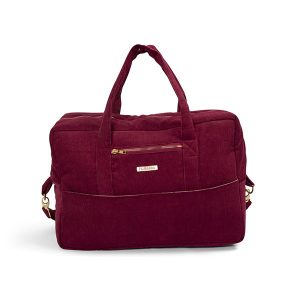 Filibabba - Mommybag Corduroy, Deeply red (FI-MO009)