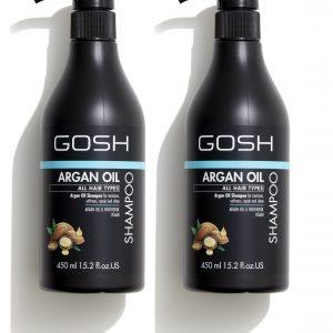 GOSH - 2 x Argan Oil Shampoo 450 ml