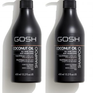 GOSH - 2 x Coconut Oil Shampoo 450 ml